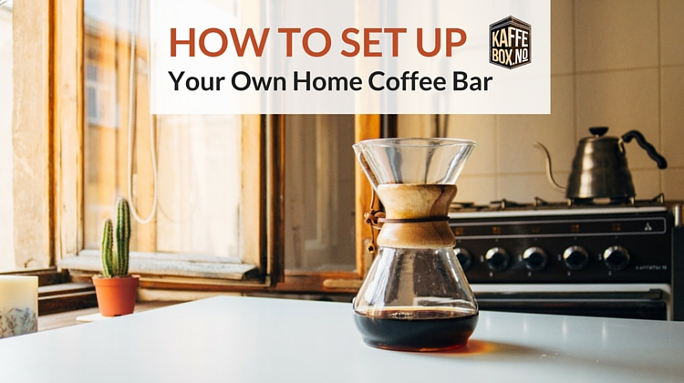 how to set up your home coffee bar. Black Bedroom Furniture Sets. Home Design Ideas